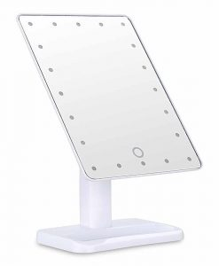 Makeup mirror with 20 led white